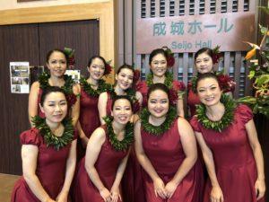 成城ホールでフラ踊ってきました✨