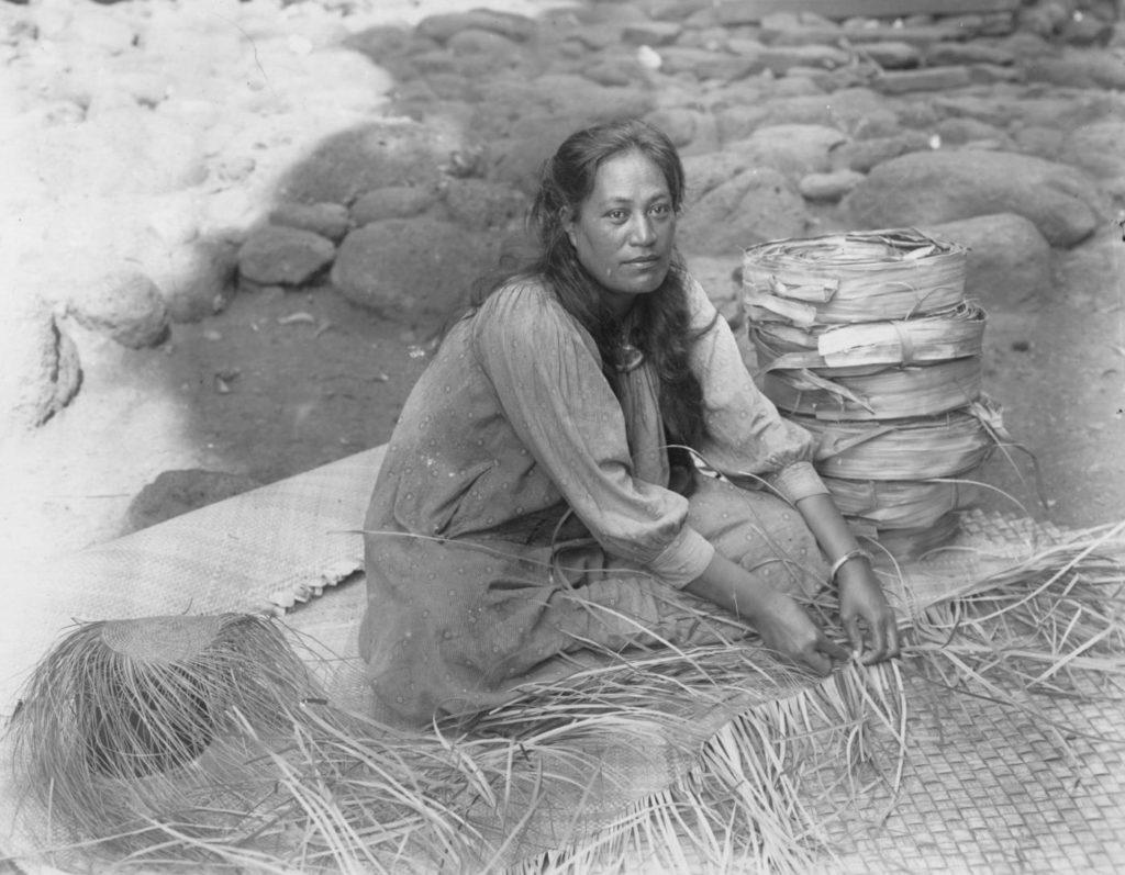 ラウハラ編み